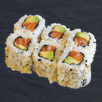 California Rolls Saumon Avocat Sésame